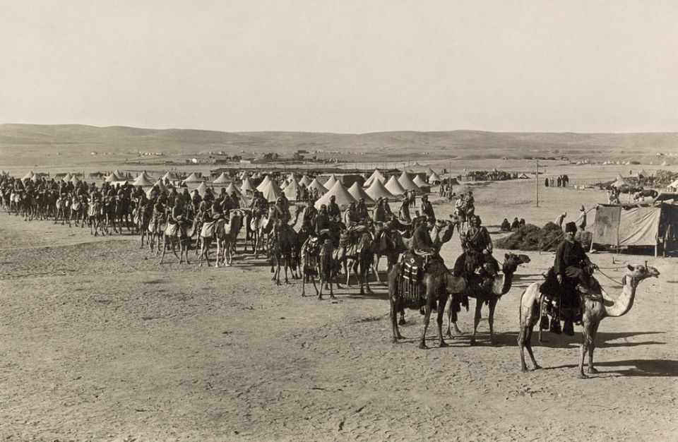 Ottoman Camel Corps in 1915